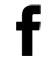 Facebook logo - black