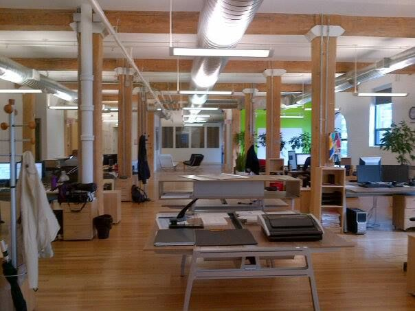 Nonlinear Creations Office, Toronto, Canada